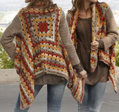 Retro Crochet Jacket Free Pattern