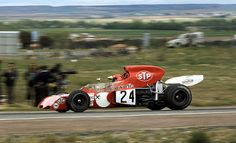 Niki Lauda STP March-Ford 721X Spanish Grand Prix Jarama 1972