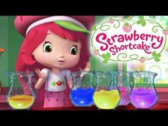 Strawberry Shortcake Strawberry's Cleaning Helpers Berry Bitty Adventures Girls Show - YouTube
