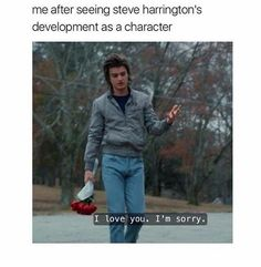 Things steve Brilliant Stranger Things Memes That Will Take Your Mood From Ten To Eleven . Brilliant Stranger Things Memes That Will Take Your Mood From Ten To Eleven Stranger Things Have Happened, Stranger Things Funny, Stranger Things Netflix, Steve From Stranger Things, Steve Harrington Stranger Things, Stranger Things Tattoo, Stranger Things Season 3, Eleven Stranger Things, Memes Humor