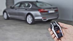 New BMW 7-Series Allows Remote Driving, Forward and Reverse!