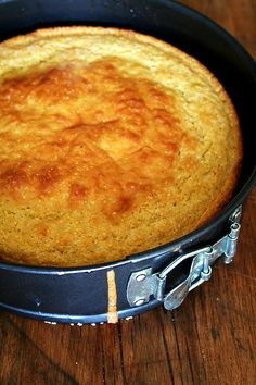 Super Moist Buttermilk Cornbread  Serves 8 to 10  1 3/4 cups flour  1 cup cornmeal  3 T. brown sugar  2 T. Sugar  1½ T. baking powder  1/4 tsp. baking soda  1 tsp. kosher salt  1 cup grated Monterey Jack or Cheddar or Gruyère (or any cheese you like)  4 tablespoons butter, divided  2 eggs, lightly beaten  2 cups buttermilk