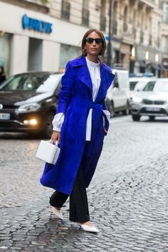 From vibrant fuchsia to cobalt blues, these are the mood-lifting colors your wardrobe needs.