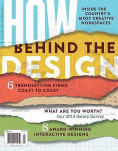 July 2014 issue of HOW Magazine