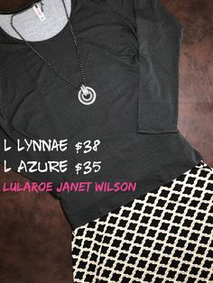 Classy combo! The Lynnae is black with white polka dots!