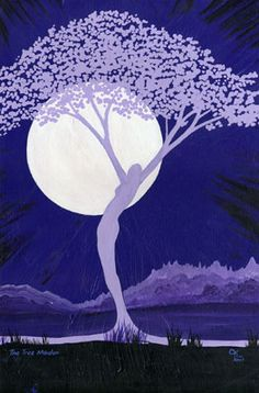 Tree Maiden    Last but not leasdt the Maiden Goddess as the Tree of Life    ~Chas Alexander