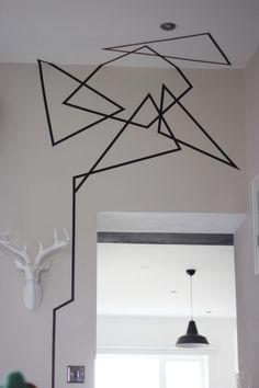 Washi Tape Wall Art More