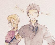 Akagami no Shirayuki-hime Kiki, and Mitsuhide