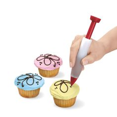 An easy way to decorate cupcakes, cookies and more! Cuisipro decorating pen @ public kitchen supply