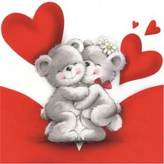 Teddy Bear Images, Teddy Bear Cartoon, I Love You Pictures, Teddy Bear Pictures, Cute Teddy Bears, Valentines Day Bears, Valentines Greetings, Valentine Greeting Cards, Christmas Greetings