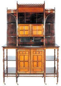 Aesthetic Movement: Aesthetic furniture