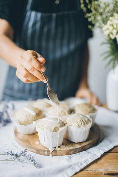 Vegan Lemon Poppyseed Muffins