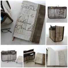 Organizador de mala e capa de livro Ref. Selo Castanho.