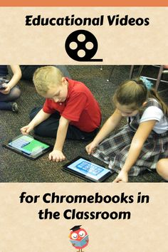 Educational Videos for Kids to watch using Chromebooks in the Classroom Special Education Teacher, Parent Resources, Educational Videos, Google Classroom, Chromebook, Elementary Schools, Activities For Kids, Parenting, Apps