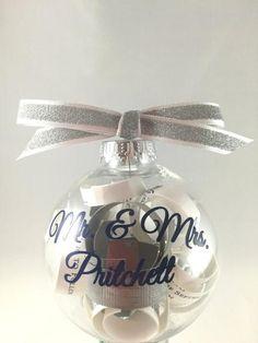 Christmas tree ornament, Wedding Invitation Keepsake, Wedding Gift, me – BellaCuttery