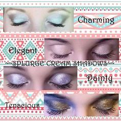 Splurge Cream Eye Shadows $22 #splurge #younique