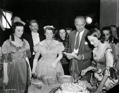 vintage everyday: Rarely Seen Behind-the-scenes Photos of the Making Film 'Gone With the Wind,' 1939