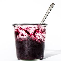Don't worry if this looks a little runny when it's hot. The chia seeds will plump as the jam cools, thickening it considerably.