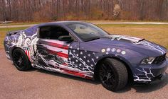 """Mustang Patriotism """"Paying Tribute to the Armed Service"""""""