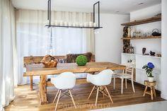 Stół drewniany ze starego drewna - model DM - Paul Bunyan - Stoły Szafy Meble ze starego drewna
