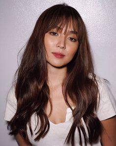 Filipina Actress, Kathryn Bernardo, Daniel Padilla, Makeup Inspo, Balayage Hair, Fashion Dresses, Make Up, Actresses, Face