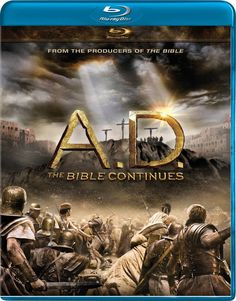 "From Mark Burnett and Roma Downey comes the continuation of the greatest story every told. A.D. The Bible Continues—which aired on NBC spring of 2015—starts with the Crucifixion and The Resurrection – catalysts that altered history. What follows is the epic tale of ""A.D."" chronicling several of the most intense and tumultuous decades in history."