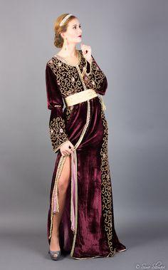 Caftan Khaleesi Burgundy
