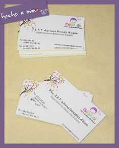 Diseño e impresión de tarjetas de presentación, etiquetas adhesivas, logos y todo lo que puedas necesitar. https://www.facebook.com/todohechomano/media_set?set=a.10202834619380627.1073741840.1655664174&type=3