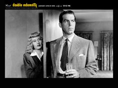 Double Indemnity Best Film Noir, Classic Film Noir, Classic Movies, Barbara Stanwyck, Joel Edgerton, The Best Films, Great Films, Cary Grant, Lauren Bacall