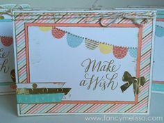 Birthday Card www.fancymelissa.com #yearnoted #ctmh #cardswap