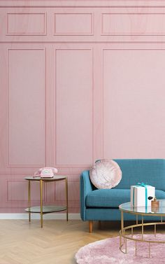 Wes Anderson Style Home Decor - Monica's Ideas Wes Anderson Style, Room Interior Design, Interior Styling, Furniture Design, Rooms Furniture, Interior Design With Wallpaper, Chair Design, Design Your Own Wallpaper, Tumblr Rooms