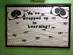 Our Halloween board Miami Springs Baptist preschool 2014