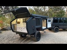Brochure - EXP-4 - BruderX Bug Out Trailer, Off Road Camper Trailer, Trailer Build, Camper Trailers, Camping Trailer Diy, Rv Campers, Camping Hacks, Off Road Camping, Jeep Camping