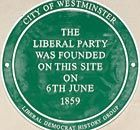Liberal party plaque unveiled