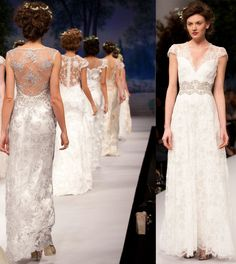 Wedding dress trend for 2012: Alluring Transparency | OneWed