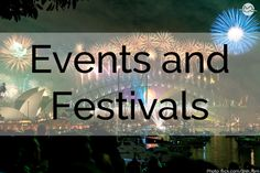 Our favorite events and festivals from around the world.