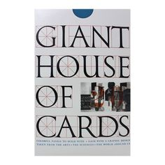 Eames Giant House of Cards Click to buy it now