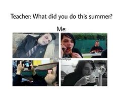 Me and Gerard are one