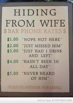 this has to go in my bar