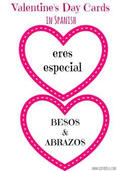 Außergewöhnlich All About Hearts: Valentineu0027s Day Cards In Spanish