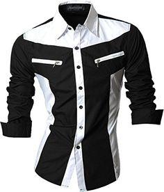 jeansian Herren Freizeit Hemden Shirt Tops Mode Langarmshirts Slim Fit Z018 Black S [Apparel] Jeansian http://www.amazon.de/dp/B00WNW82Q2/ref=cm_sw_r_pi_dp_pfnHwb0AMNGGD