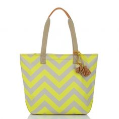 LOVE this Frankie Chevron Tote by Brahmin