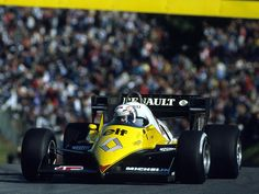 Alain Prost (Equipe Renault Elf), Renault RE40 - Renault-Gordini EF1 1.5 V6, 1983
