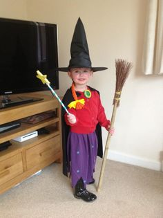 Lucy as Witch!