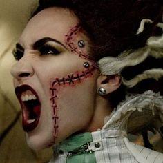 Bride of Frankenstein - rick baker, michelline pitt. mac collection                                                                                                                                                                                 Mehr