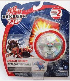 Bakugan ELFIN Special Attack Haos Gray Round Figure Sealed Brawler 2009 NEW #Bakugan #BakuganOfficial #Elfin #SpinMaster