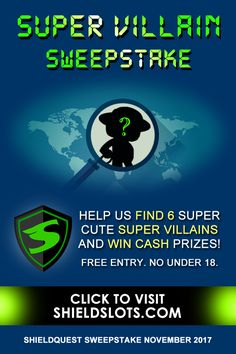 We need your help in tracking down and catching the 6 dangerously cute super villains running wild on ShieldSlots.com! Win Cash Prizes, Play Slots, We Need You, Free To Play, Play Online, Online Casino, Told You So, Running, Keep Running