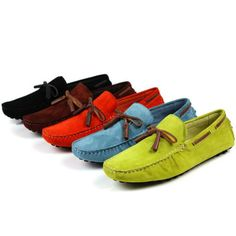 ca81dfb4228cf men s colored suede shoes with tassels