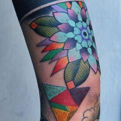 Amazing technicolor tattoos by Marcin Aleksander Surowiec