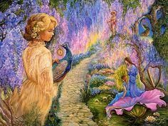 Wisteria Way by Josephine Wall